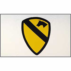 1ST CAVALRY 3' X 5' MILITARY FLAG