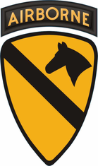 1st Cavalry Division Airborne Decal