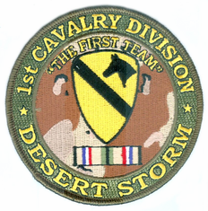 1st Cavalry Division Desert Storm Patch