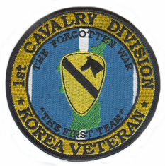 1st Cavalry Division Korea Veteran Patch