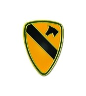 1st Cavalry Division Lapel Pin