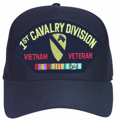1st Cavalry Division 'Vietnam Veteran' with Ribbons Ball Cap