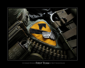 1st Cavalry - First Team - Giclee Print