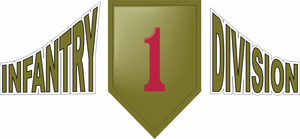 1st Infantry Contour Decal