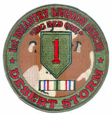 1st Infantry Division Desert Storm Patch