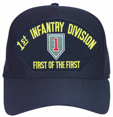 1st Infantry Division 'First of the First' with Patch Ball Cap