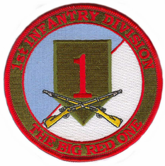 1st Infantry Division (with Rifles) Patch