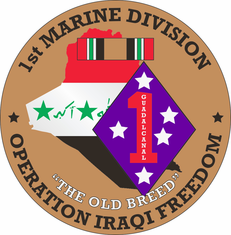 1st Maine Division OIF Decal
