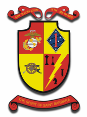 1st Marine Division 5th Battalion 11th Marine Regiment Sticker Decal