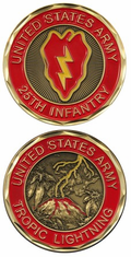 25th Infantry Challenge Coin