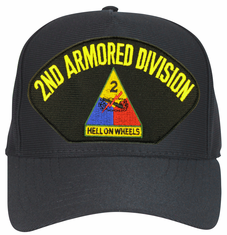 2nd Armored Division Ball Cap Hat