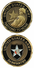 2nd Infantry Challenge Coin