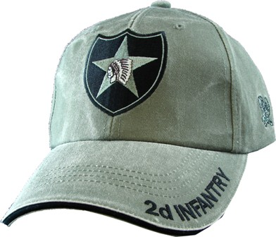 2nd Infantry Division Olive Drab Quot Od Green Quot Ball Cap