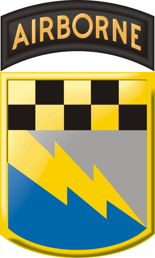 525th Military Intelligence Brigade Airborne Decal