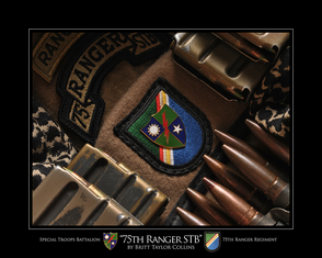 """75th RANGER STB"" Special Troops Battalion"