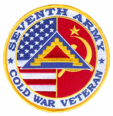 "7th Army Cold War Veteran 4"" Patch"
