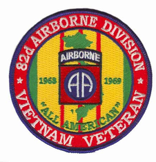 "82nd Airborne 4"" Vietnam Veteran Patch"