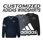 Adidas Custom Embroidered Windshirts