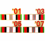 Afghanistan War Pins Section