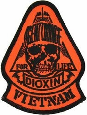 Agent Orange Vietnam Small Patch (3 1/2 inch)