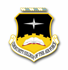 Air Force Community College Vinyl Transfer Decal