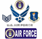 Air Force Decals and Bumper Stickers