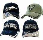 Air Force Direct Embroidered Caps