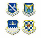 Air Force Organizations Vinyl Transfer Decals