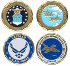 Air Force Pride Challenge Coins