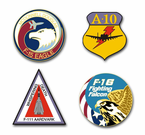 Air Force Programs Vinyl Transfer Decals