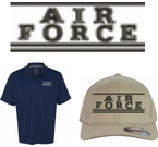 Air Force Script Apparel