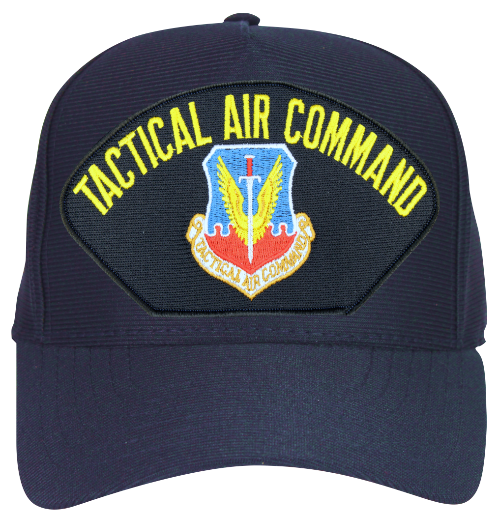 70f6bd33135 ... clearance air force tactical air command navy blue ball cap hat 5bbe3  f41a8