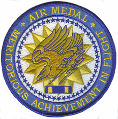 "Air Medal Medal 4"" Patch"