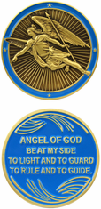Angle of God Challenge Coin
