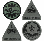 Armored ACU Patches