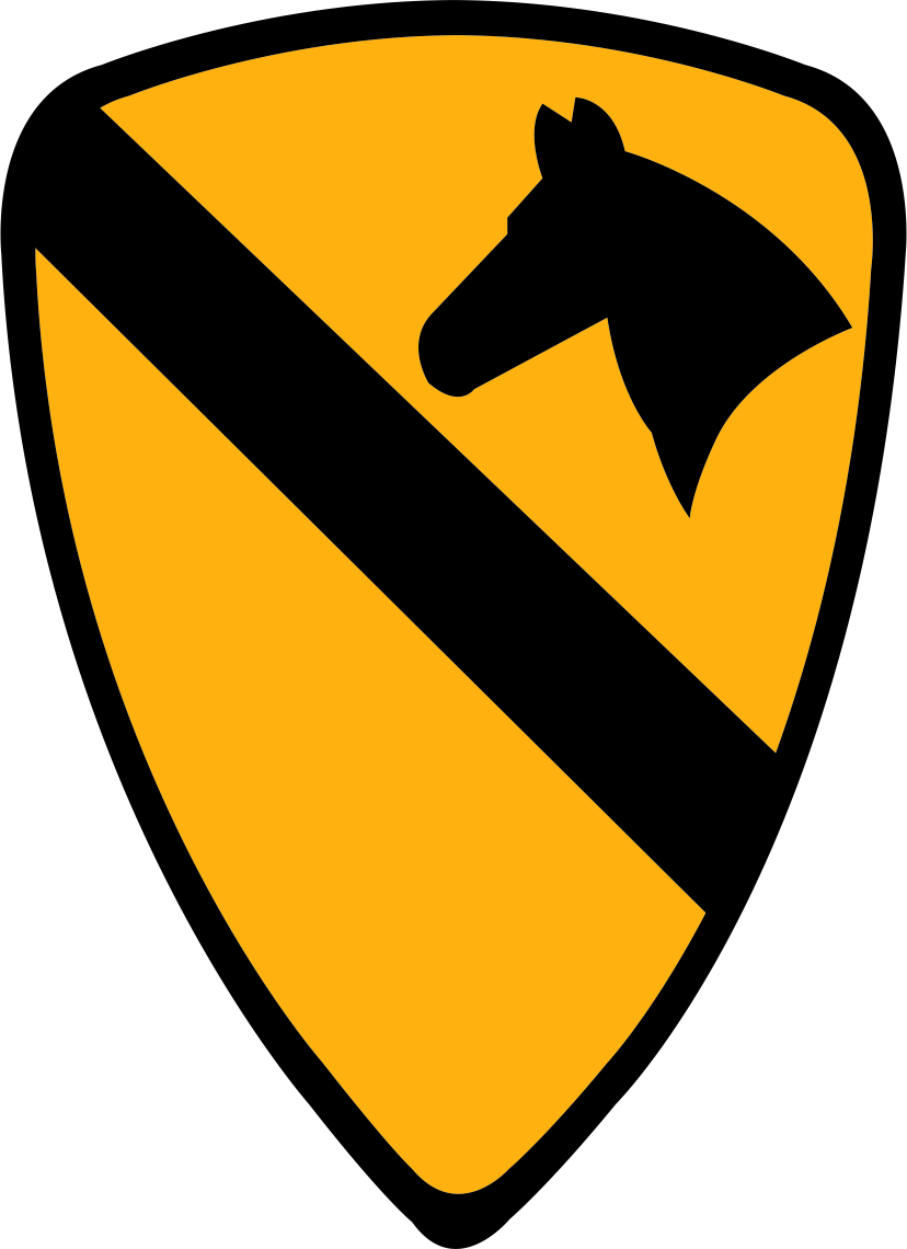 Army 1st Cavalry Divis...1st Cavalry Patch For Ar15