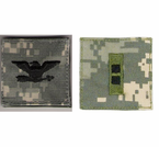 Army ACU Digital Officer and Enlisted Shoulder Rank Insignias