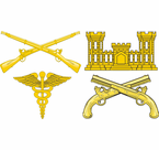 Army Branch Insignia Decals