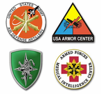 Army Centers Vinyl Transfer Decals