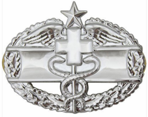 Army Combat Medical 2nd Award Badge