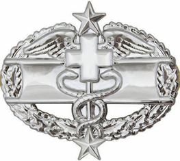 Army Combat Medical 3rd Award Badge