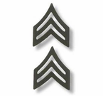 Army ENLISTED Black Collar Insignia