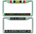 Army License Plate Frames