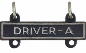 Army Qualification Bar Driver A