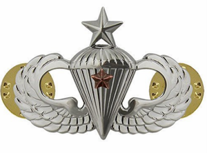 Army Senior Combat Parachute 1st Award Badge