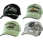 Army WAR CONFLICT Ball Caps
