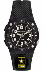 Army Water Resistant Watch with Flashlight Feature