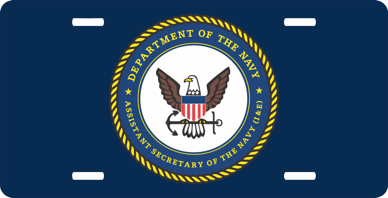 Assistant Secretary Of The Navy License Plate