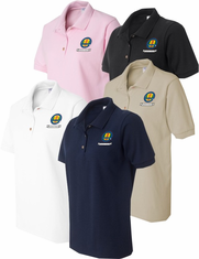 AVVA Custsom Embroidered Ladies Polo Shirts