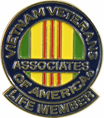 "AVVA Life Member 1/2"" Mini Lapel Pin"